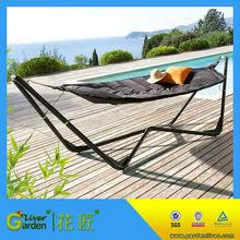 best quality rocking hammock screen hammock with steel stand