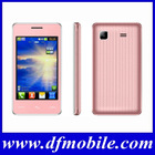 """Best 3.5"""" Camera FM 4 Band 2 Sim TV Cel Mobile Dealers Your Own Brand Phone D43"""