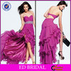 Fuchsia Chiffon Birthday Evening Cheap Girl Party Dress China