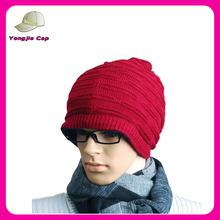 Solid Color Unisex Men Women Warm Cuff Knit Ski Long Beanie Skull Cap
