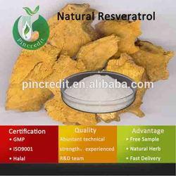 Pure Resveratrol/Bulk Resveratrol/Natural Resveratrol