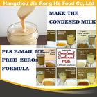 Condensed milk powder and liquid flavor