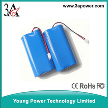 3S 10.8v 11.1V12.6V 2400MAH 18650 li-ion battery packs Outdoor lamps and lanterns of lithium-ion battery pack