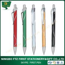 Popular on promotional market simple design custom metal pens