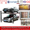 China Four / 4 post home garage car parking lifts used for sale