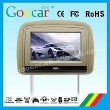 "9""car headrest dvd compatible with DVD/CD/CDG/MP4/MP3/WMA/JPEG/RMVB(MP5)"