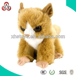cute small plush yellow cat
