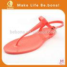 Summer Orange Hot selling Cheap Wholesale Jelly Sandals Alibaba China