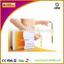 CE ISO Effective Burn Fat guarana slim patch