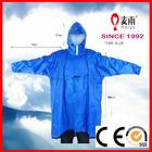 waterproof riding hooded rain poncho in bag