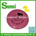 sunita novo design de plástico barato alta quantidade gigante frisbee foldable lona animal de estimação do cão do brinquedo