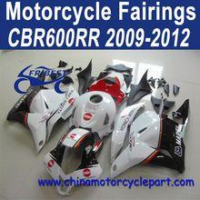 Wholesale For Honda CBR600RR 2009-2012 Red Konica Bike Fairings FFKHD010