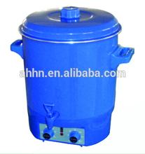27L blue enamelled and plastic fruit preserving
