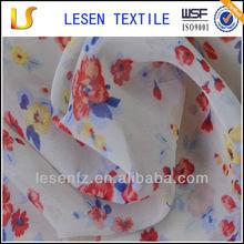 Lesen Textile velvet chiffon fabric for dress