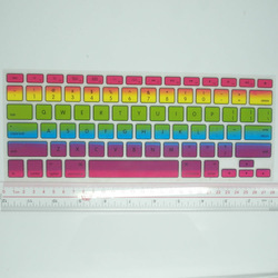 OEM custom colorful silicone keyboard cover for mac silicone keyboard covers with factory price
