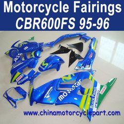 Drop Shipping For Honda CBR600FS 95 96 Movistar Motorcycle Fairing Kit FFKHD002