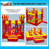 3D Design Circus Small Bouncer, Inflatable Mini Bounce Castle For Park