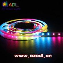 SZADL smd led 3528 smd DC12V ws2811 led string 5050 60LEDM