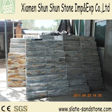 Natural prefab stone wall imitation stone wall cladding with competive price