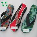 design de moda de salto alto eva flip flops praia sandálias
