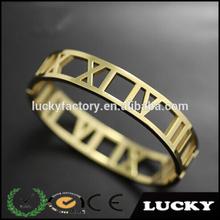 2014 Wholesale Dubai Latest Design Girls African 22k Gold Bangles
