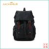 designer backpack mens canvas bag with leather trim
