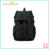 designer backpack mens canvas bag with leather trim