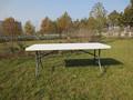 Mobilier d'extérieur en usage général et utilisation spécifique de table pliable table en plein air