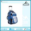 Popular high quality travel wheeled backpacks