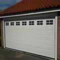 El CE probó automática del garaje puertas y ventanas de doble acristalamiento