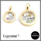 Glass memory locket, 2014 wholesale glass locket pendants & charms