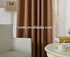 linen look curtain black out wholesale