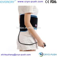 Inflatable lumbar support air cushion