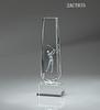 Souvenir new design crystal sport tower award crystal golf ball trophy