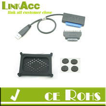 """Linkacc1-th146 USB 3.0 to SATA 22P 2.5"""" Hard driver HDD SSD 13P optical ODD Adapter Cable"""