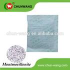 Montmorillonite Desiccant green bentonite clay