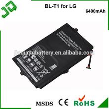 High capacity 6400mAh Battery For LG Optimus Pad V900, SBPP0028901, Optimus Pad L-06C, BL-T1