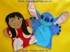 Stitch&Lilo Hand Puppets Cartoon Plush Toy For Kids