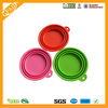 Factory Sale BPA Free Collapsible Silicone Dog Bowl Food Grade Silicone Container