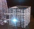 Glas kristall oktagon für Hochzeit oder hauptdekoration mh-12623