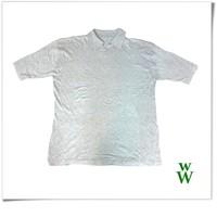 Bamboo fabric breathable plain woman t shirt