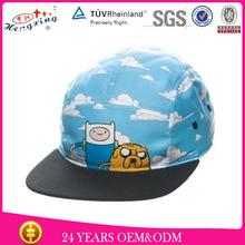 custom kids design baby hat 5 panel cap for children