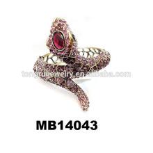 wholesale rhinestone vintage bracelet snake