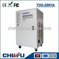 Ce y rohs aprobados 50 kva industrial automática de tres fases estabilizador de tensión/regulador
