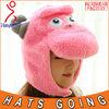 Pink Sheep Knitting Pattern Animal Earflap Hat