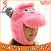 Pink Sheep Knitting Pattern Animal Earflap Hat