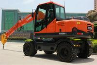 SOCMA manufacturer 8 ton bucket wheel excavator YUCHAI excavator