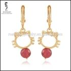 screw back stud earrings,alloy dangle earrings,superstar accessories earrings