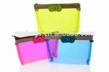 high quality transparent plastic vinyl PVC cosmetic accessories zipper pouch
