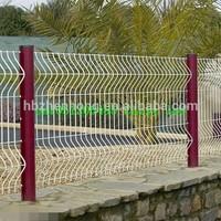 EU market artificial green fence (PVC or hot galvanized)